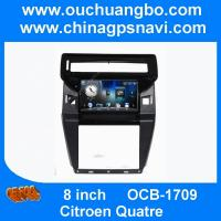 Wholesale Ouchuangbo audio gps stereo navigation system Citroen Quatre  with AUX usb BT  sd spanish from china suppliers