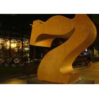 Wholesale Professional Number 7 Corten Steel Sculpture Without Base 180cm Height from china suppliers