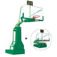 China Top Quality Basketball Equipment Manual Hydraulic Basketball Hoop For Competition on sale