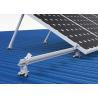 Buy cheap Living House Solar Panel Frame Mounting Kit , Triangular Bracket Solar Power from wholesalers