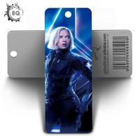 Wholesale Marvel Heros Design PET 3D Lenticular Bookmark 0.6mm PET+157g Coated Paper from china suppliers