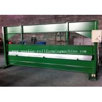 Wholesale TY 4m Hydraulic Color Coated Steel Sheet Bending Cutting Machine PLC  Panasonic from china suppliers