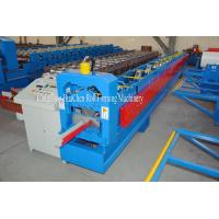 China Construction Water System Roofing Sheet Gutter Roll Forming Machine 18 Rows on sale
