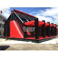 Wholesale Attractive Rides Jump Kids Red Drop Tower Inflatable Interactive Games / Funny Drop Tower from china suppliers