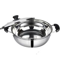 Buy cheap Kitchen Pots And Pans With Glass Lid , Food Grade Stainless Steel Pots And Pans from wholesalers