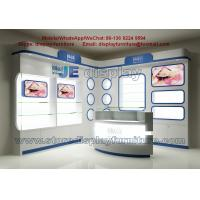 Wholesale For young lady Skin beauty Medical Corner Display Cabinet and Bright Showcase in Shopping mall Corridor from china suppliers