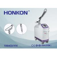 China EQ Q Switched Nd Yag Laser Machine For Pigmentation / Tattoo Removal Pain Free on sale