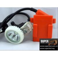 China 6Ah Mining Light Methane Alarm Lamp Miner Cap Lamp on sale