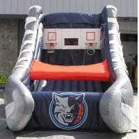 Wholesale Fun Inflatable Interactive Games Charlotte Bobcats Inflatable Kids Games Basketball Shot from china suppliers