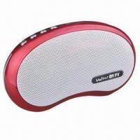 China Portable Speaker with Super Loud Volume, Supports microSD Card, FM Radio and MP3/WMA/WAV Formats on sale
