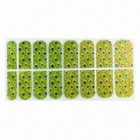 Wholesale Nail Foil Stickers, Safe and Non-toxic, Shining Effect from china suppliers