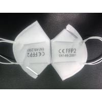 Wholesale Non Toxic FFP2 Face Mask , FFP2 Respirator Adjustable Nose Piece For Better Fit from china suppliers