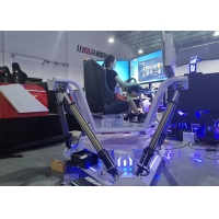 Wholesale One Person 6dof Motion Platform VR Racing Car Simulator from china suppliers