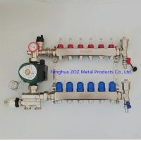 China Stainless Steel Radiant Floor Heating Manifold Set for sale