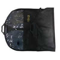 Wholesale Fish21 75g Black Nonwoven Fabric Dress/ Suit Garment Bag With Black Zipper, Button Closure from china suppliers