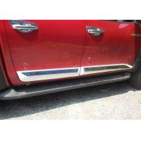 Buy cheap TOYOTA Hilux 2016 2017 Revo Auto Body Trim Parts Side Door Molding Protection Plates from Wholesalers