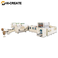 China 380v PLC 1200Mm Tissue Paper Embossing Machine on sale
