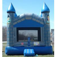 Wholesale Blue Or Purple Moonwalk Bounce House Outdoor Inflatable Jumper Bouncer For Party from china suppliers