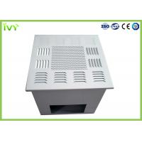 Wholesale Fan Powered Hepa Filter Diffuser , Custom Air Filter Box Air Supply Grille from china suppliers