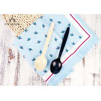 China Biodegradable PLA Disposable Tableware White / Black Cutlery Heat Resistant on sale