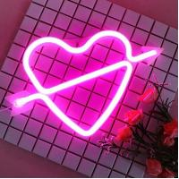 China Feeling Love LED Decorative Lights Neon Bar Signs For Valentine 'S Day / Birthday on sale