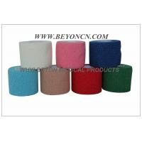 Wholesale Latex-free Cotton Cohesive Bandage Woven Cotton Self Adhesive Flexible Hand Tearable from china suppliers