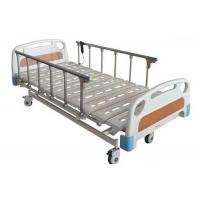 China Aluminum Alloy Folding Guardrail Hospital Electric Bed With 4 Motors (ALS-E504) on sale