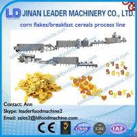 Wholesale Corn flakes breakfast cereals snacks process line from china suppliers