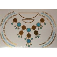 Wholesale Turquoise Metallic tattoos from china suppliers