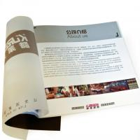 Wholesale UV coated offset paper flyer printing / Color Booklet Printing Service with SGS-COC-007396 from china suppliers