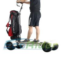 Buy cheap EcoRider Four Wheel Electric Golf Skateboard Scooter Cart with Ajustable Handle from wholesalers