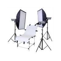 Wholesale Flash Recycle time 0.7 - 2s Economy Studio Lighting Kits from china suppliers