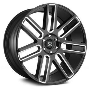 China luxury car 20 inch automotive aluminium black machined alloy wheels on sale