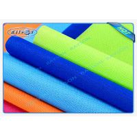 Wholesale Green / Blue Package Material Polypropylene Non Woven Fabric Spunbond 80gsm Various Colors from china suppliers