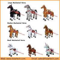 Wholesale Giddy up Riding Horse Toy Walking Pony Rides is the Best Early Christmas Gift for Kids from china suppliers
