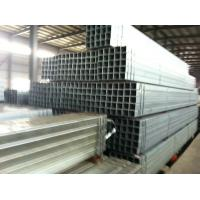 China Q235B A36 Hollow Painted Square Steel Tubes / Pipes Abrasion Resistant S275J2H on sale