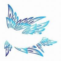 Wholesale Face/Eye's Tattoo Stickers, Butterfly Design, Safe and Non-toxic, Customized Designs are Accepted from china suppliers