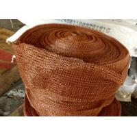 Wholesale Standard SP Copper Knitted Wire Mesh For Corrosion Resistant Filter Pad from china suppliers