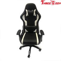 China Custom Racing Bucket Seat Office Chair , High Density Foam Swivel Office Chair on sale