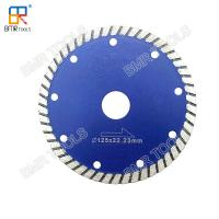 """Wholesale BMR TOOLS 5""""(125mm) Cold Press Diamond Turbo Saw Blade Cutter Disc For Granite Marble Quartz Stone Concrete Wet Cutting from china suppliers"""