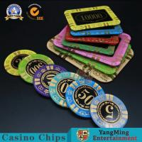 Wholesale Casino Acrylic Poker Chips Gambling Club Chip Silk Screen Chip Can Custom Manufacturer Spot from china suppliers