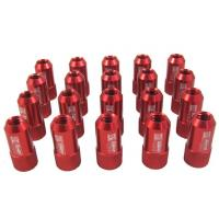 Wholesale Red 40mm Aluminum Racing Wheel Lug Nuts With Key / Lock For Honda from china suppliers