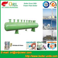 Buy cheap 100 ton SA516 GR70 boiler mud drum for natural gas industry from wholesalers