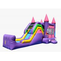Quality Big Commercial Inflatable Combo Bounce House Water Slide Combo Rentals for sale