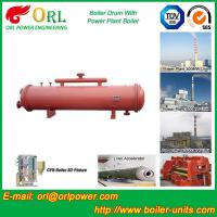 Wholesale Single Gas Boiler Mud Drum Natural Circulation For Textile Industry from china suppliers