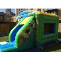 Wholesale Big Farmyard Inflatable Bounce House With Slide For Young Teenagers from china suppliers