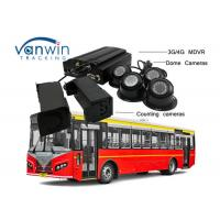 Quality 3G / 4G Real-Time Monitoring Camera recorder with Bus People Counter GPS Tracking OSD for sale