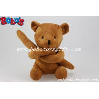 Wholesale Unusual Holiday Gifts Brown Teddy Bears Toy In Long Arm Design from china suppliers