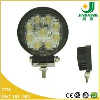 Buy cheap 27 watt car work light led 12v waterproof 4 inch round cree led work light from wholesalers