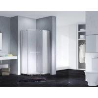 Buy cheap Neo-Angle Hinged Semi Frameless Diamond Shape Shower Enclosure With Pivot Door, from wholesalers